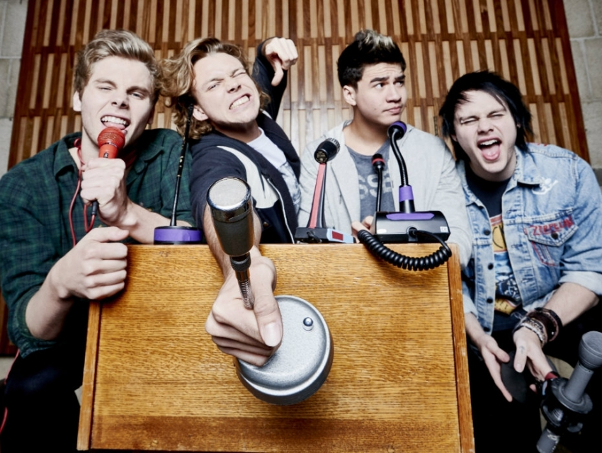 5 Seconds Of Summer Oct 11th 731pm Phoenix Concerts Eventseeker